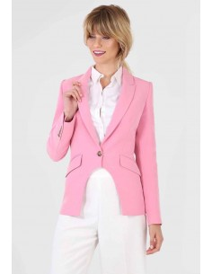BLAZER ROSA TIPO SMOKING